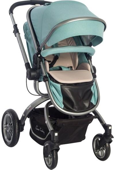 Pierre Cardin Twist +Plus Travel Sistem Bebek Arabası