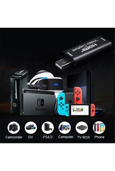 Ally Video Capture USB 2.0 To HDMI Çevirici Dönüştürücü Adaptör AL-32608