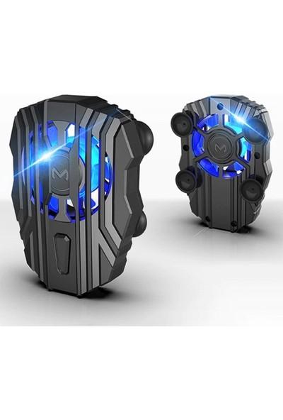 Memo FL01 Telefonu Soğutma Fanı Radyatör Soğutucu LED Ios Android Pubg Gaming AL-32598