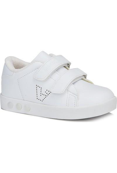 Vicco Oyo Unisex Çocuk Beyaz Spor Ayakkabı