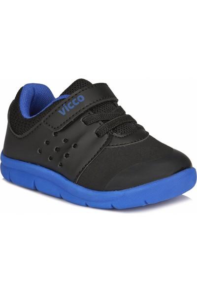 Vicco Mario II Unisex İlk Adım Siyah Spor Ayakkabı