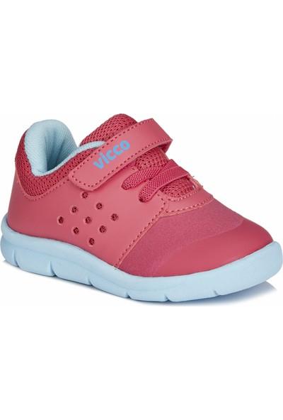 Vicco Mario II Kız Bebe Fuşya Spor Ayakkabı