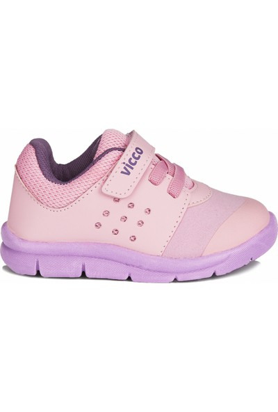 Vicco Mario II Kız Bebe Pembe Spor Ayakkabı
