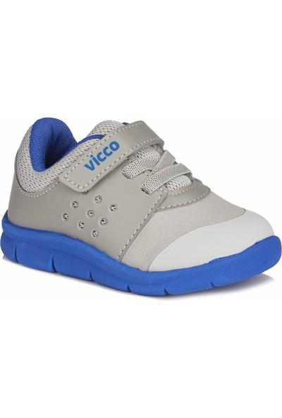 Vicco Mario II Erkek Bebe Gri/Saks Mavi Spor Ayakkabı
