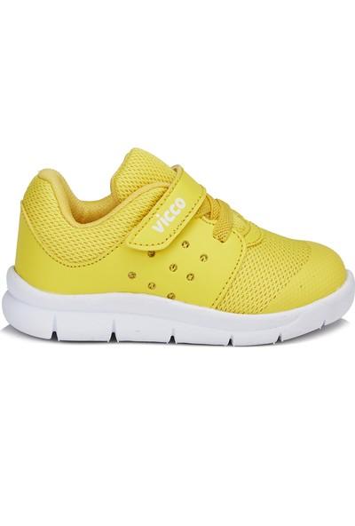 Vicco Mario Unisex Bebe Sarı Spor Ayakkabı