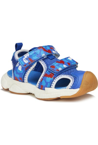 Vicco Leo Erkek Çocuk Saks Mavi Sandalet
