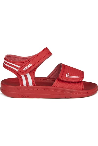 Vicco Dory Unisex Çocuk Kırmızı Sandalet