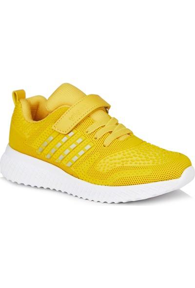 Vicco Sharp Unisex Genç Sarı Spor Ayakkabı
