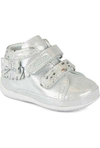Vicco Minos Kız İlk Adım Gümüş Günlük Ayakkabı