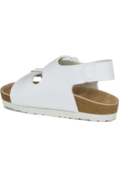 Vicco Last Unisex Çocuk Beyaz Sandalet
