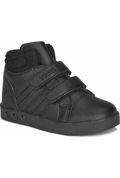 Vicco Lucky Unisex Bebe Siyah Günlük Ayakkabı