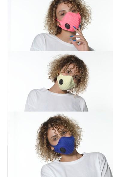 Oxy 3'lü Ayarlanabilen Filtreli %100 Pamuklu Açık Renkli Yıkanabilir Maske Paketi
