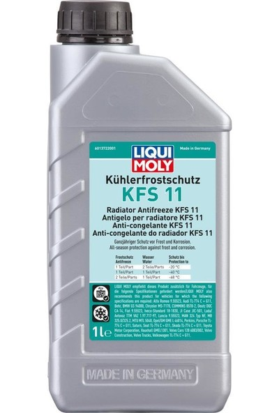 Liqui Moly Radyatör Antifrizi Kfs 11 Mavi 1 lt 21449