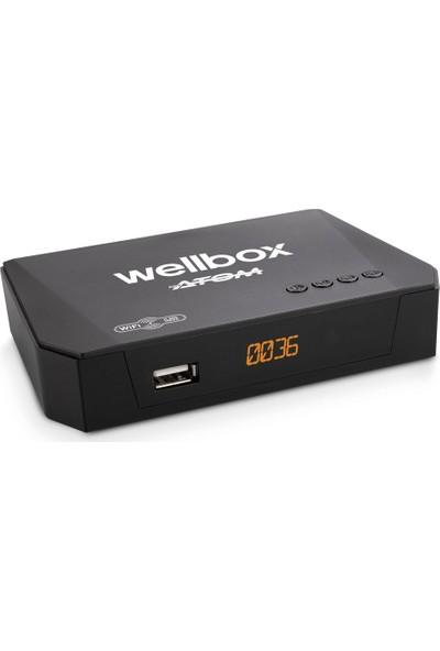 Wellbox Atom Wi-Fi Hd Uydu Alıcısı