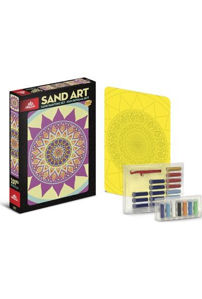 Red Castle Sand Art Kum Sanatı Yetişkin Kum Boyama Aktivite Seti Mandala