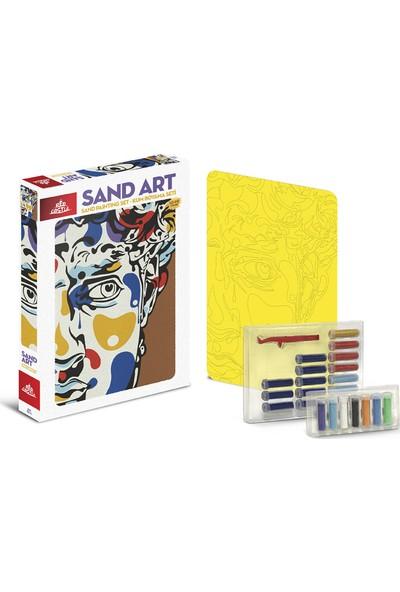 Red Castle Sand Art Kum Sanatı Yetişkin Kum Boyama Aktivite Seti Heykel Gibi Adam