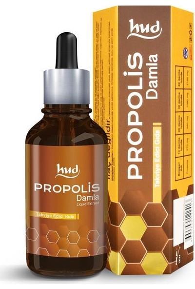 Hud Propolis Damla 50 ml – Su Bazlı Propolis Ekstraktı