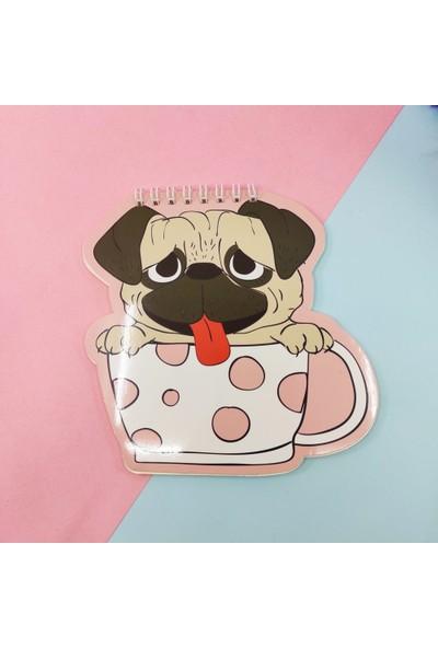 Şeker Ofisi Şekilli Defter Sevimli Köpek