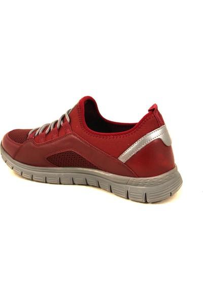 Forelli 45809 Erkek Bordo Spor Ayakkabı