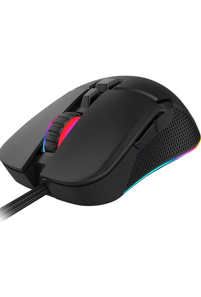 Everest SGM-05 X-Racer 7D RGB 6400DPI Optik Gaming Oyuncu Mouse