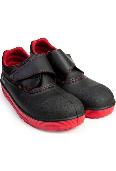 Beta Force Çelik Burun Iş Ayakkabısı BTF101 Kırmızı Taban
