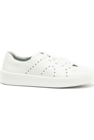 Camper Kadın Sneaker K200945-017 Courb Beyaz