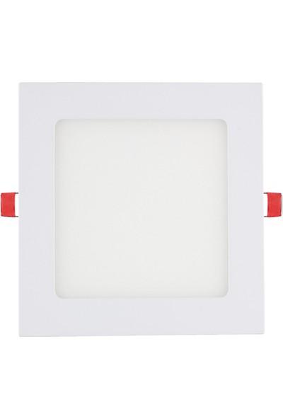 Dünya LED 9W Kare Sıva Altı LED Panel Armatür