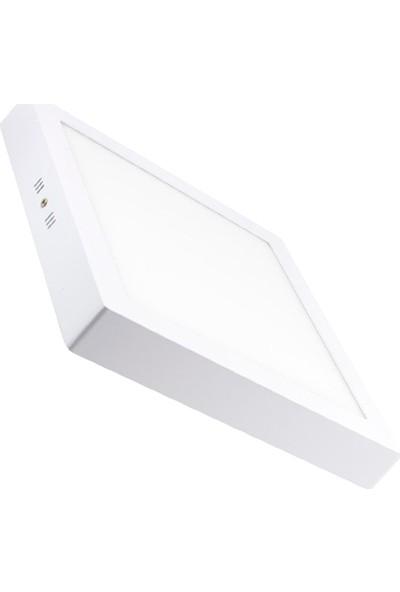 Dünya LED 20W Kare Sıva Üstü LED Panel Armatür