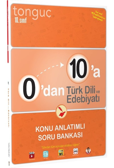 Tonguç Akademi 0'dan 10'a Türk Dili ve Edebiyatı Konu Anlatımlı Soru Bankası