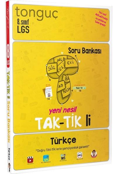Tonguç Akademi 8. Sınıf Türkçe Taktikli Soru Bankası