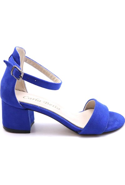 Carla Bella 701 Tek Bant Kadın Ayakkabı