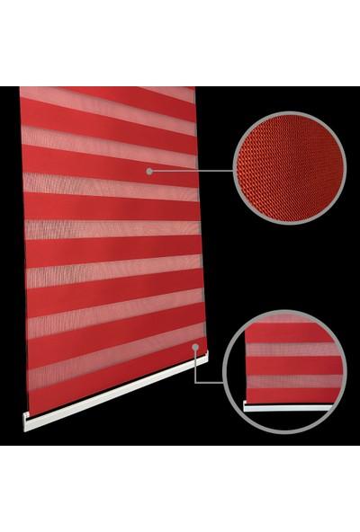 Lucra Concept Zebra Perde 616-11 kırmızı MZ616-11 40x200 cm