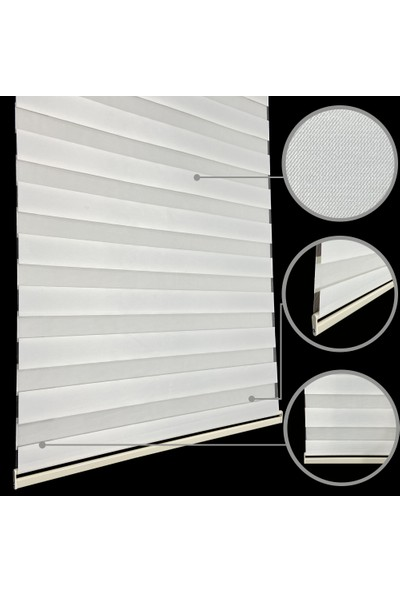 Lucra Concept Zebra Perde 616-04 Ekru MZ616-4 40x200 cm