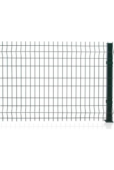 Batı Tel Örgü Panel Çit Takımı 4 mm 150 x 250 cm