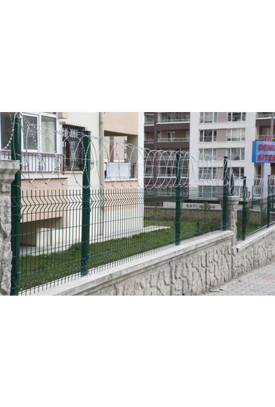 Batı Tel Örgü Panel Çit Takımı 4,5mm 75 x 250 cm
