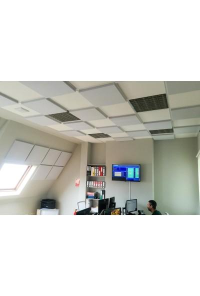 Center Acoustic Basotect 4 cm Gri Renk 50 x 50 cm Ofis ve Çağrı Merkezi Ses Yalıtım Süngeri