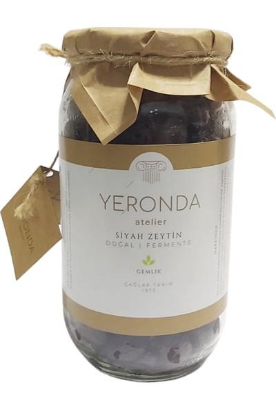 Yeronda Gemlik Tipi Net Fermente Siyah Zeytin 700 gr