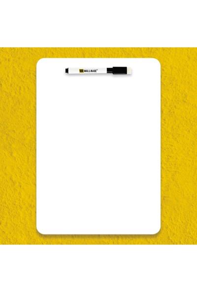 Wallmage Easyboard Kararmaz Beyaz Yazı Tahtası - A5 14.8 x 21 cm