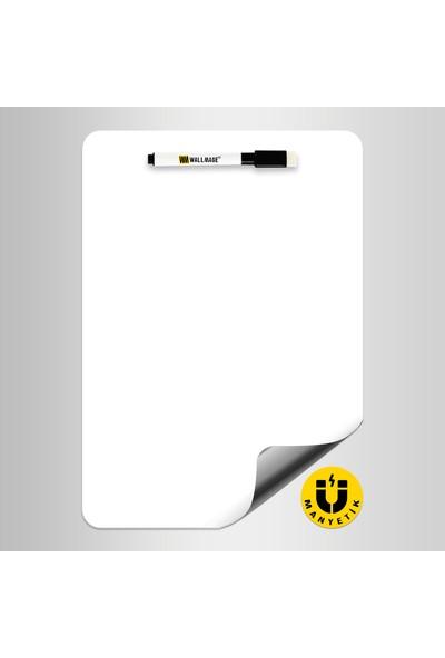 Wallmage Easyboard Manyetik Katlanabilir Beyaz Tahta - A4 21 x 29.7 cm