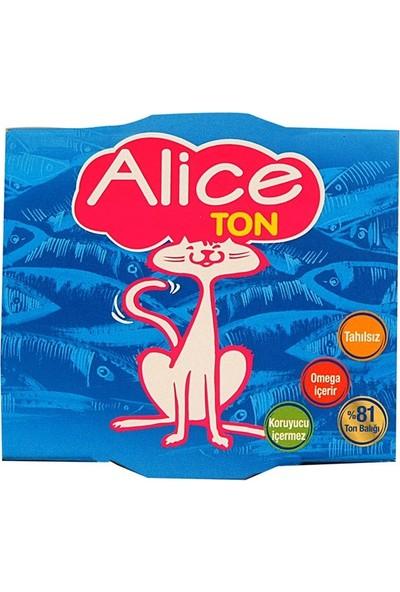 Alice Ton Konserve Yaş Kedi Maması 185 gr - 9 Adet