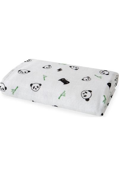 Yataş Bedding Mask Bebek Müslin Çok Amaçlı Örtü 80 x 80 cm