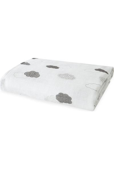Yataş Bedding Clouds Bebek Müslin Çok Amaçlı Örtü 80 x 80 cm