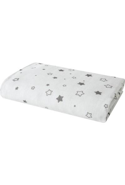 Yataş Bedding Stars Bebek Müslin Çok Amaçlı Örtü 80 x 80 cm