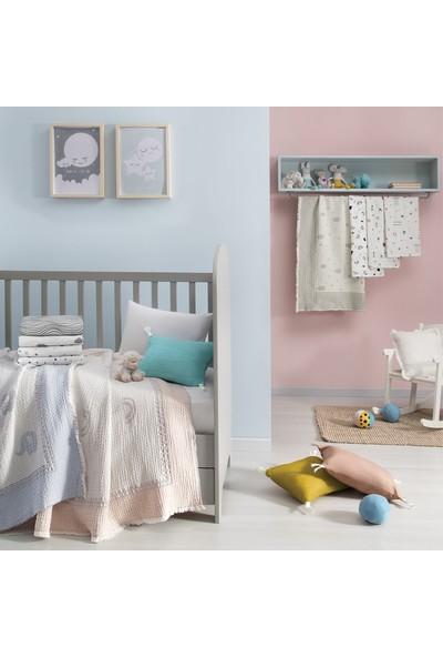 Yataş Bedding Glamor Bebek Müslin Çok Amaçlı Örtü 80 x 80 cm