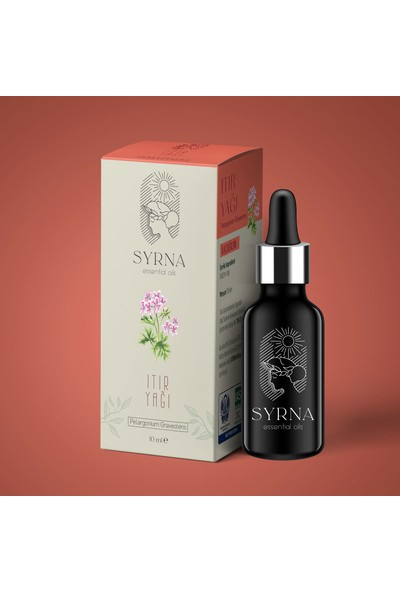 Syrna Organik Itır Yağı 10 ml