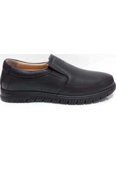 Pabuç Erkek Deri Bağsız Günlük Ayakkabı
