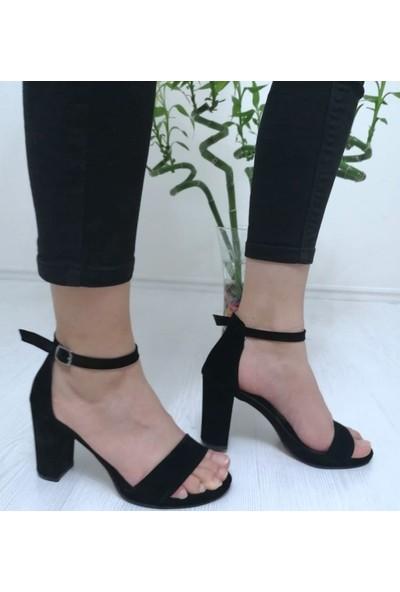Leopar Kadın Tek Bant Sandalet