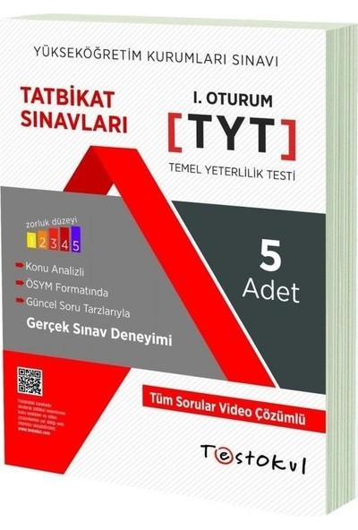 Test Okul Yayınları Yks - Tyt Deneme Sınavı (5'li)