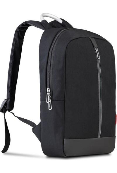 "Classone GenoaPR R400G 15.6"" Notebook Sırt Çantası - Siyah Gri Astar"
