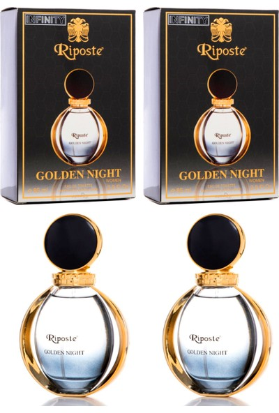 Riposte 2'li Golden Night Edt 85ml (X2) Kadın Parfüm